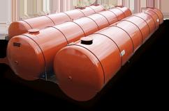 Stockage de carburant dans réservoir enterré